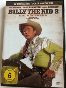 Billy The Kid 2 Die Rückkehr DVD 1938 Billy The Kid Returns / Directed by Joseph Kane / Starring: Roy Rogers, Smiley Burnette, Lynne Roberts / Western Klassiker (4049774470639)