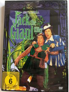 Jack and the Beanstalk DVD 1952 Jack the Giant Killer / Directed by Jean Yarbrough / Starring: Bud Abbott, Lou Costello, Buddy Baer, Dorothy Ford, Barbara Brown (4049774483394)