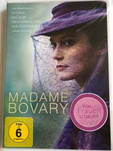 Madame Bovary DVD 2014 / Directed by Sophie Barthes / Starring: Mia Wasikowska, Henry Lloyd-Hughes, Ezra Miller, Paul Giamatti (5051890302618)