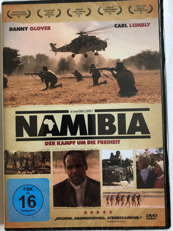 Namibia – Der Kampf um die Freiheit DVD 2007 Namibia: The Struggle for Liberation / Directed by Charles Burnett / Starring: Carl Lumbly, Danny Glover, Chrisjan Appollus, Lazarus Jacobs (4049774484285)