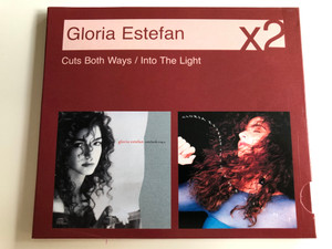 Gloria Estefan x2 - Cuts both ways, Into the Light / Audio CD 2007 / Here we are, Nothin' New, Get on Your Feet, Si voy A perderte, Seal our Fate, Close My Eyes, Light of Love / 2 CD / Sony BMG (886971451726)