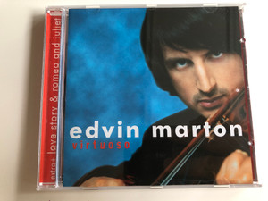 Edvin Marton ‎– Virtuoso / Audio CD 2004 / Extra: Love Story & Romeo and Juliet / EM002 (7610118989991)