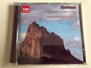 Leonard Bernstein - Serenade, William Schuman Violin Concerto / American Classics / Robert McDuffie - Saint Louis Symphony Orchestra - Leonard Slatkin / Emi Classics / Audio CD 2008 (5099920661120)