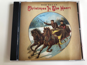 Bob Dylan - Christmas in The Heart / Audio CD 2009 / Do You Hear What I hear? Hark the Herald Angels Sing, The Christmas Blues, O' Come all ye faithful (Adeste fideles) / Columbia Records (886975732326)