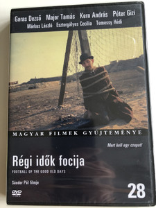 Football of the Good old Days DVD 1973 Régi Idők focija / Directed by Pál Sándor / Starring: Garas Dezső, Major Tamás, Kern András, Péter Gizi, Márkus László / Hungarian Film Collection (5999546331219)