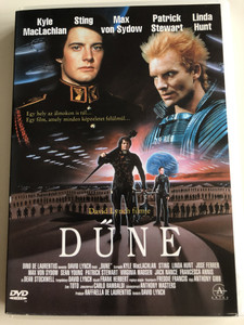 Dune DVD 1984 Dűne / Directed by David Lynch / Kyle MacLachlan, Sting, Max von Sydow, Patrick Stewart, Linda Hunt / Sci-Fi Classic (5999881067699)