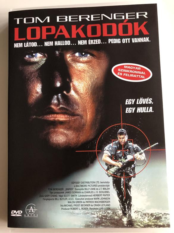 Sniper DVD 1993 Lopakodók / Directed by Luis Llosa / Starring: Tom Berenger, Billy Zane, J.T. Walsh (5999881068405)