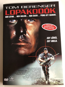 Sniper DVD 1993 Lopakodók / Directed by Luis Llosa / Starring: Tom Berenger, Billy Zane, J.T. Walsh (5999881068405)