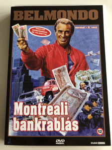 Hold-Up DVD 1985 Montreali bankrablás / Directed by Alexandre Arcady / Belmondo series pt. 3/ Starring: Jean-Paul Belmondo, Kim Cattrall, Guy Marchand, Jean-Pierre Marielle (5999881067064)