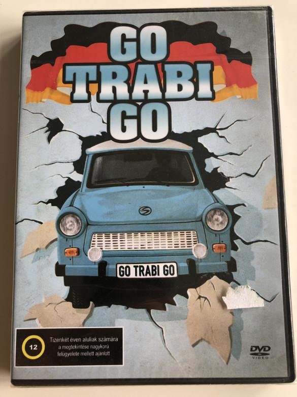 Go Trabi Go DVD 1991 / Directed by Peter Timm / Starring: Wolfgang Stumph, Claudia Schmutzler, Marie Gruber, Dieter Hildebrandt, Ottfried Fischer (5999545584142)