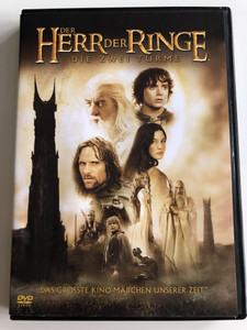 Der Herr Der Ringe - Die Zwei Türme DVD 2002 The Lord of the Rings - The Two Towers / Directed by Peter Jackson / Starring: Elijah Wood, Ian McKellen, Liv Tyler, Viggo Mortensen, Sean Astin, Cate Blanchett (7321921234323)