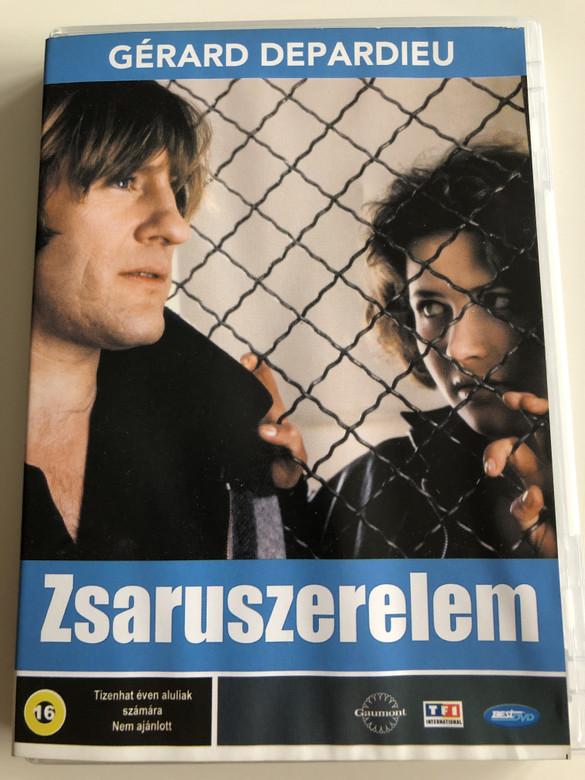 Police DVD 1985 Zsaruszerelem / Directed by Maurice Pialat / Starring: Gérard Depardieu, Sophie Marceau, Richard Anconina, Sandrine Bonnaire (5998133176431)