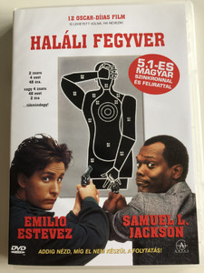 National Lampoon's Loaded Weapon DVD 1993 Haláli Fegyver / Directed by Gene Quintano / Starring: Emilio Estevez, Samuel L. Jackson, Jon Lovitz, Kathy Ireland, William Shatner, Whoopi Goldberg (5999881067804)