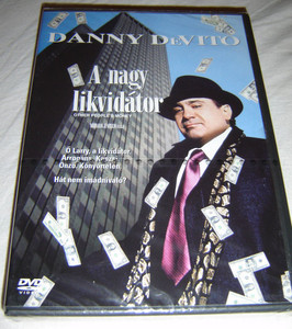 Other People's money DVD 1991 A nagy likvidátor / Directed by Norman Jewison / Starring: Danny DeVito, Gregory Peck, Penelope Ann Miller, Piper Laurie (5999010456059)