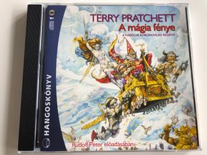 Terry Pratchett - A mágia fénye / A Második Korongvilág regény / Read by Rudolf Péter / Hungarian Audio Book edition of The Light Fantastic by Terry Pratchett / Mp3 Audio CD 2009 / Kossuth - Mojzer kiadó (9789630960571)
