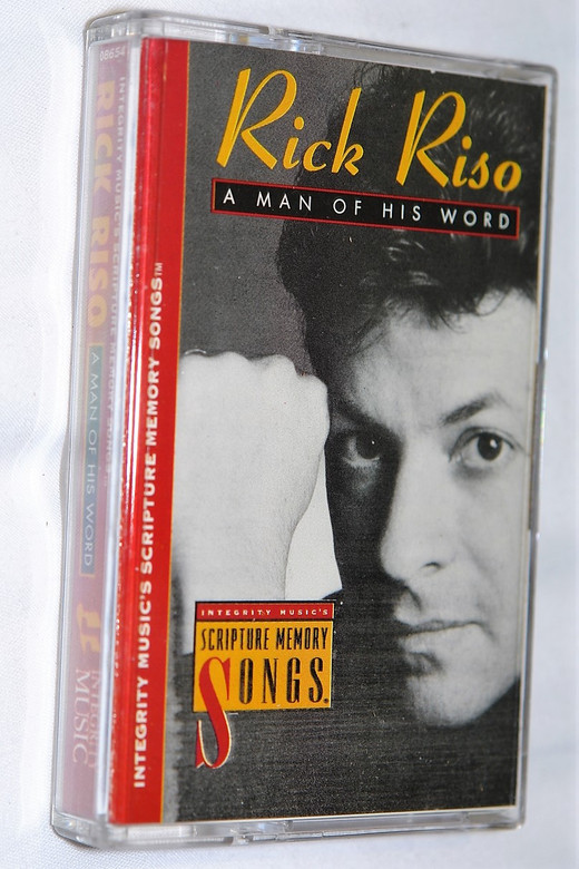 Man of His Word - Rick Riso / Integrity Music's Scripture Memory Songs / Christian Praise and Worship Music / Audio Cassette (000768086544)