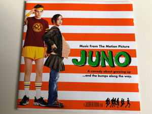 Juno - Music from the Motion Picture / A comendy about growing up ... and the bumps along the way / Soundtrack by Jason Reitman, Peter Afterman & Margaret Yen / Audio CD 2007 (081227994082)