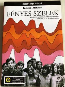 Fényes Szelek DVD 1969 The Confrontation / Directed by Miklós Jancsó / Starring: Drahota Andrea, Balázsovits Lajos, Kovács Kati, Kozák András / Hungarian drama film / mokép (5996357311058)