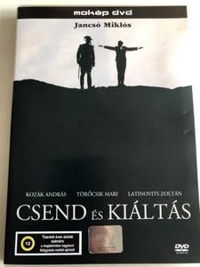 Csend és Kiáltás DVD 1968 Silence and Cry / Directed by Miklós Jancsó / Starring: Kozák András, Törőcsik Mari, Latinovits Zoltán (5996357310525)