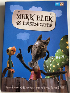 Mekk Elek az Ezermester - Elek Mekk the Handyman DVD 1980 / Directed by Imre István / Written by Romhányi József / Hungarian puppet movie / 13 episodes / Ages 3 and up (5999546333909)