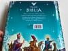 Mesélő Biblia by Silvia Alonso / Hungarian translation of Biblia infantil / Illustrations by Manuel Galiana / Hardcover 2015 / Napraforgó Kiadó (9789634456490)