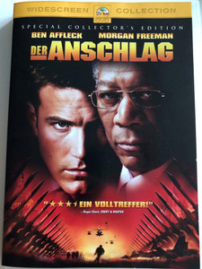 Der Anschlag DVD 2002 The Sum of all fears / Directed by Phil Alden Robinson / Starring: Ben Affleck, Morgan Freeman (4010884525076)