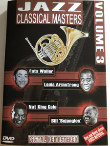"Jazz Classical Masters - Vol. 3 / DVD / Fats Waller, louis Armstrong, Nat King Cole, Bill ""Bojangles"" / Digitally remastered (8716718008116)"