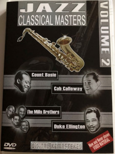 Jazz Classical Masters - Vol. 2 / DVD / Count Basie, Cab Calloway, The Mills Brothers, Duke Ellington / Digitally remastered (8716718008109)