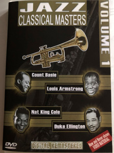 Jazz Classical Masters - Vol. 1 / DVD / Count Basie, Louis Armstrong, Nat King Cole, Duke Ellington / Digitally remastered (8716718008093)