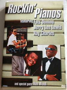 Rockin' Pianos DVD 2004 ft. Fats Domino, Jerry Lee Lewis, Ray Charles and special guest Ron Wood / Carinco AG (5055137185873)