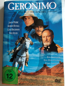 Geronimo - Das Blut der Apachen DVD 1993 Geronimo / Directed by Walter Hill / Starring: Jason Patric, Robert Duvall, Gene Hackman, Wes Studi (4030521198739)