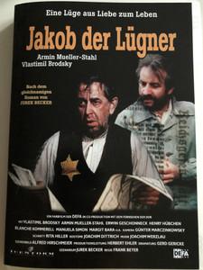 Jakob der Lügner DVD 1975 Jacob the Liar / Directed by Frank Beyer / Starring: Vlastimil Brodský, Armin Mueller-Stahl / Nach dem gleichnamigen Roman von Jurek Becker (4028951190836)
