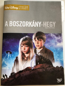 A Boszorkány-hegy DVD 1978 Escape to Witch Mountain / Directed by John Hough / Starring: Eddie Albert, Ray Milland, Donald Pleasence, Kim Richards, Ike Eisenmann / Disney Családi Klasszikus / Disney Family Classic (5996255728941)