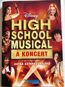 High School Musical - The Concert DVD 2007 High School Musical - A Koncert / Directed by Jim Yukich / Starring: Corbin Bleu, Monique Coleman, Lucas Grabeel, Vanessa Hudgens, Drew Seeley, Ashley Tisdale (5996255725254)