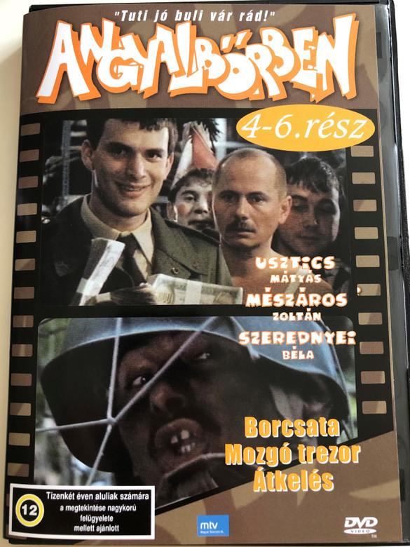 Angyalbőrben 1991 / Directed by Gát György, Szurdi Miklós / Starring: Usztics Mátyás, Mészáros Zoltán, Szerednyei Béla / Hungarian TV Series / 3 episodes on DVD (5999551920644)