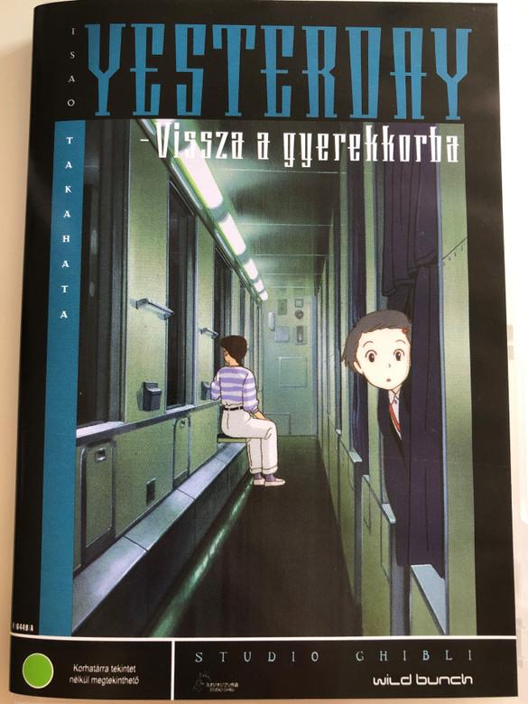 Only Yesterday DVD 1991 Yesterday - vissza a gyerekkorba (おもひでぽろぽろ) / Directed by Isao Takahata / Starring: Miki Imai, Toshirō Yanagiba, Yōko Honna / Studio Ghibli / Japanese Animated film (Omoide Poro Poro) (5998133185433)
