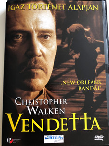 Vendetta DVD 1999 / Directed by Nicholas Hytner / Starring: Christopher Walken, Clancy Brown, Bruce Davison, Edward Herrman / Based on a true Story (5999881067385)