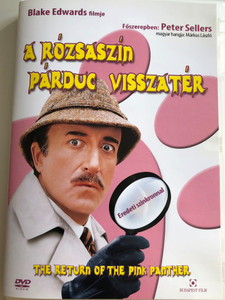 The Return of the Pink Panther DVD 1975 A rózsaszín párduc visszatér / Directed by Blake Edwards / Starring: Peter Sellers, Christopher Plummer, Catherine Schell, Herbert Lom (5999544253360)