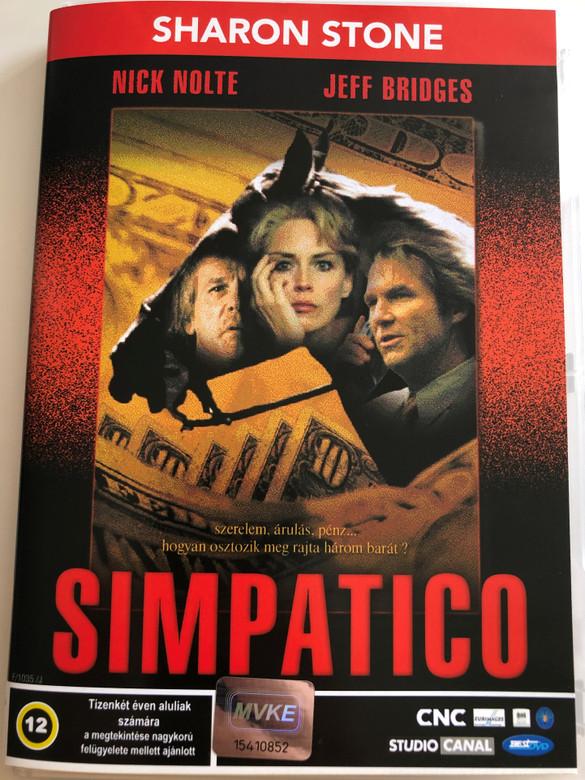 Simpatico DVD 1999 / Directed by Matthew Warchus / Starring: Nick Nolte, Jeff Bridges, Sharon Stone, Catherine Keener, Albert Finney, Liam Waite (5998133189905