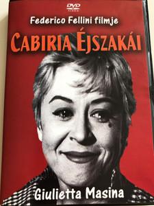 Le notti di Cabiria DVD 1957 Cabiria Éjszakái (Nights of Cabiria) / Directed by Federico Fellini / Starring Giulietta Masina, François Périer, Franca Marzi, Dorian Gray, Amedeo Nazzari (5996051280100)