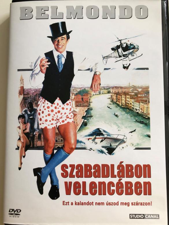 Le Guignolo DVD 1979 Szabadlábon Velencében / Directed by Georges Lautner / Starring: Jean-Paul Belmondo, Michel Galabru, Charles Gerard, Georges Geret (5999546330199)