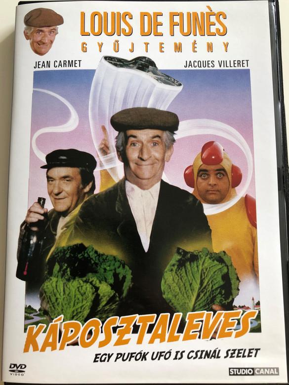 Le Soupe Aux Choux DVD 1981 Káposztaleves / Directed by Jean Girault / Starring: Louis De Funés, Jean Carmet, Jacques Villeret, Claude Gensac, Christine Dejoux / De Funés gyűjtemény (5999546330212)
