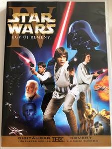 Star Wars Episode IV A New Hope DVD 1977 Star Wars IV. Egy Új Remény / Directed by George Lucas / Starring: Mark Hamill, Harrison Ford, Carrie Fisher
