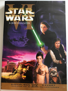 Star Wars Episode VI Return of the Jedi DVD 1983 Star Wars VI A Jedi visszatér / Directed by Richard Marquand / Starring: Mark Hamill, Harrison Ford, Carrie Fisher, Billy Dee Williams, Anthony Daniels, David Prowse