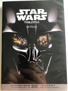 Star Wars Trilogy Extras DVD 2004 Star Wars Trilógia Extrák / Documentary and Featurettes / Trailers and TV Spots / Video Games / Ep. III Preview (SWTrilogyExtra DVD)