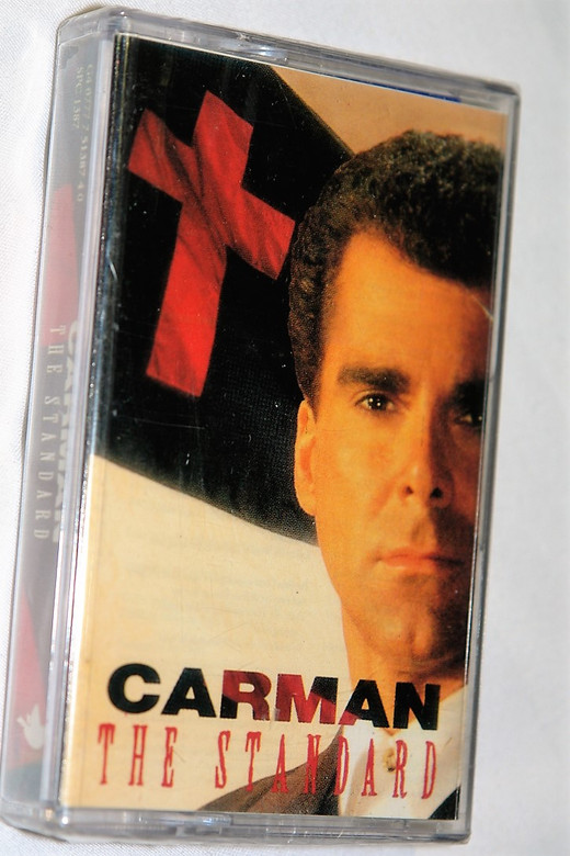 Carman – The Standard / Sparrow Records / Praise and Worship Music - Audio Cassette (077775138740)