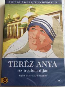 Madre Teresa DVD 2005 Teréz Anya / Directed by Orlando Corradi, Jon Song Chol / Written by Clelia Castaldo, Loris Peota, Luciano Scaffa / A hit óriásai rajzfilmsorozat IV. / Etalon Film (5999886089832)