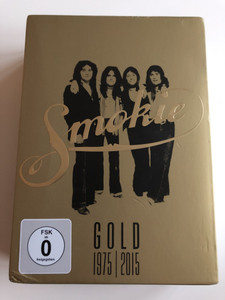 Smokie Gold 1975 - 2015 DVD 40th Anniversary Edition / The Definitive Smokie Anthology / All the Greatest Hits / TV Appearances from Around the World, Documentaries and interviews, Extensive Bonus Features / Sony Music / 3 DVD set (888750052193)