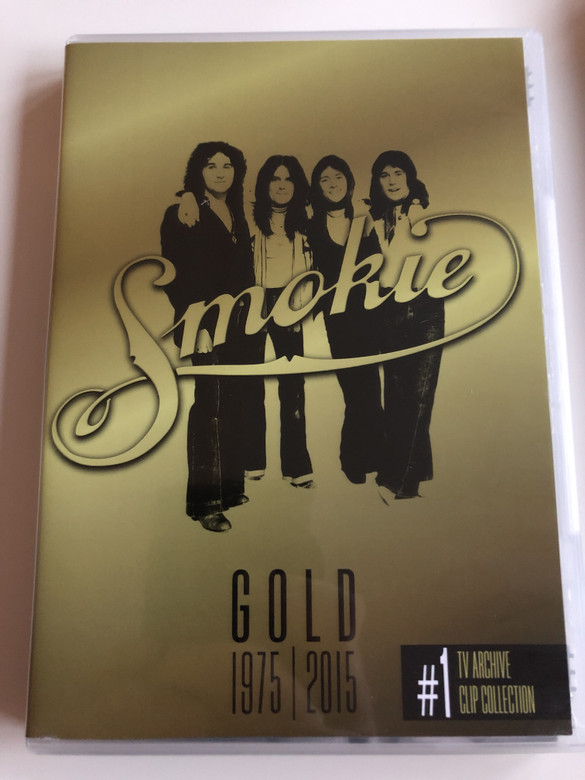 Smokie Gold 1975 - 2015 DVD #1 / 40th Anniversary Edition / TV Archive, Clip Collection / Unique Highlights From some of the World's best Loved Television Entertainment programmes / Sony Music (888750052191)