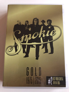 Smokie Gold 1975 - 2015 DVD #2 / 40th Anniversary Edition / Best Video Clips & Live in 1985 / Excerpts from the Legendary Charity Concert in Bradford - England 1985 / Sony Music (888750052192)